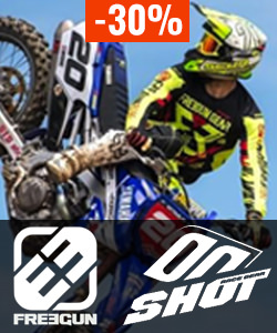 Soldes moto cross Freegun & Shot 2017