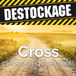 Destockage Motocross